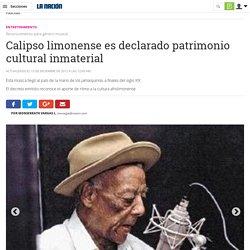 Calipso limonense es declarado patrimonio cultural inmaterial
