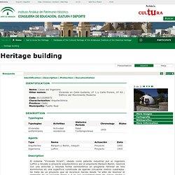 Base de datos Patrimonio Inmueble de Andalucía