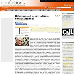 Habermas et le patriotisme constitutionnel