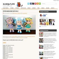 Patrón amigurumi Fairy Dolls ~ Susigurumi