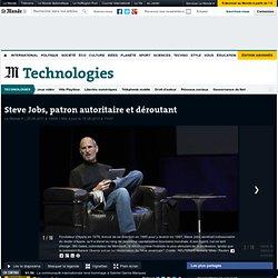 Steve Jobs : un génie déroutant ?