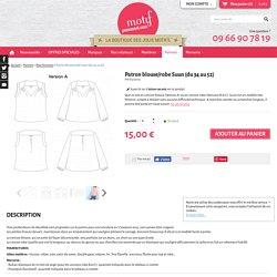 Patron blouse/robe Suun (du 34 au 52) - Patrons/Pour femmes