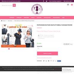 patron de couture gratuit robe et tunique femme