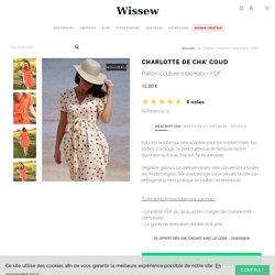 Patron Couture robe Katy - PDF