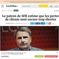 Le patron de SFR estime que les pertes de clients sont encore trop élevées, High tech