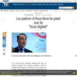 Le patron d'Axa lève le pied sur le« tout digital »