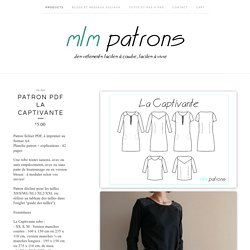 Patron PDF La Captivante / mlm patrons