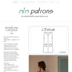 Patron PDF L'Estivale / mlm patrons