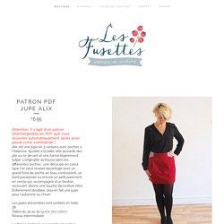 Patron PDF jupe Alix / Les Fusettes