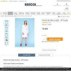Patron de robe Le 904 - DP Studio - Rascol