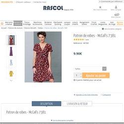 Patron de robes - McCall's 7381 - Rascol