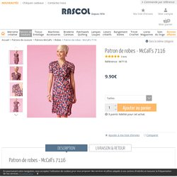 Patron de robes - McCall's 7116 - Rascol