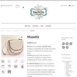 Patron sac Musette