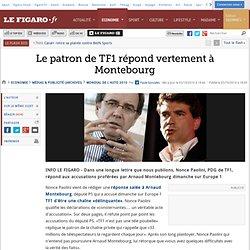 Le patron de TF1 à Montebourg