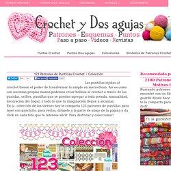 123 Patrones de Puntillas Crochet / Colección