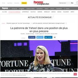 La patronne de Yahoo! dans une position de plus en plus précaire