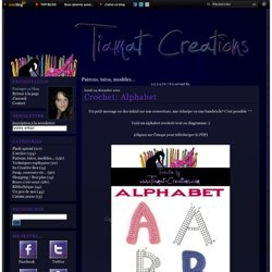 Patrons, tutos, modèles... - Crochet: Le Bandeau… - Couture: Tablier… - Couture: Tablier… - Crochet: Foofa (Yo… - Le blog de Tiamat