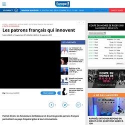 Les patrons français qui innovent - Video