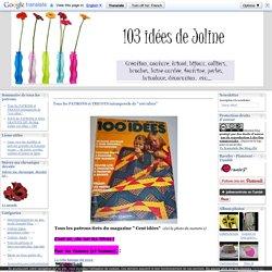"""Tous les PATRONS et TRICOTS intemporels de """"100 idées"""""""