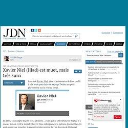 Xavier Niel (Iliad) est muet, mais très suivi - Patron Twitter - Journal du Net Economie