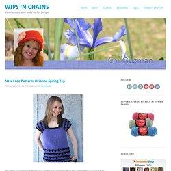 Crochet Brianna Spring Top
