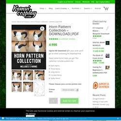 » Horn Pattern Collection – DOWNLOAD