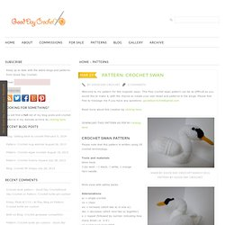 Pattern: Crochet swan - Good Day CrochetGood Day Crochet