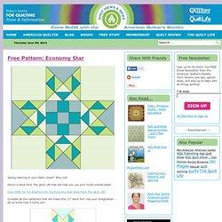 Free Pattern: Economy Star