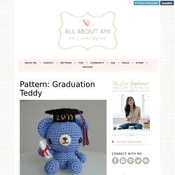 Pattern: Graduation Teddy