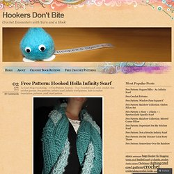 Free Pattern: Hooked Holla Infinity Scarf