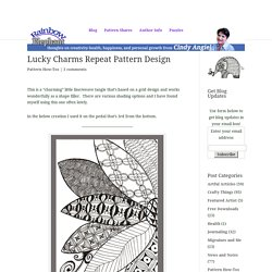 Lucky Charms Repeat Pattern Design