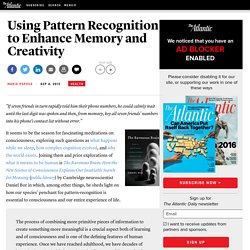 Using Pattern Recognition to Enhance Memory and Creativity