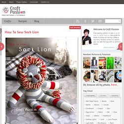 Sock Lion