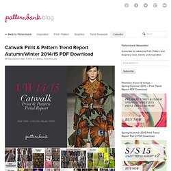 Patternbank - Print, Pattern + Graphics Inspiration