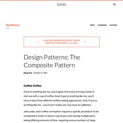 Design Patterns: The Composite Pattern