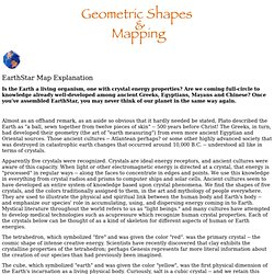 "Patterns & Handouts - ""Geometric Shapes & Mapping"""
