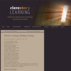 Patterns: Learning, Thinking, Creating