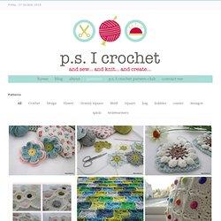 p.s. I crochet...