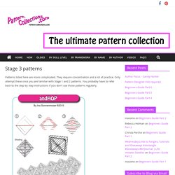 Stage 3 patterns – pattern-collections.com