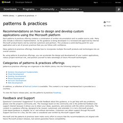 patterns & practices