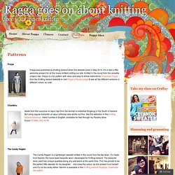 Free patterns « Ragga goes on about knitting