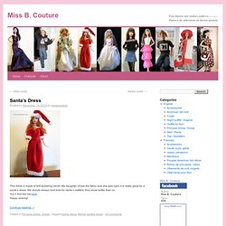 Make it yourself Barbie clothes ———- Cousez vous-même vos vêtements de Barbie