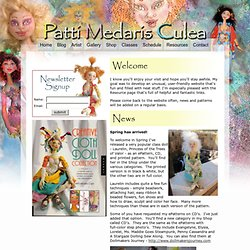 Patti Medaris Culea - dolls, doll maker, art dolls, doll patterns