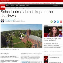 St. Paul's case: School crime data kept in the shadows