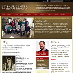 St. Paul Center for Biblical Theology