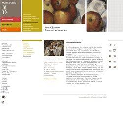 Paul Cézanne Pommes et oranges
