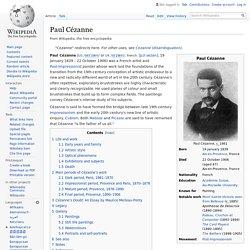 """Paul Cézanne : """"Notre père à tous"""" (matisse et picasso)"""