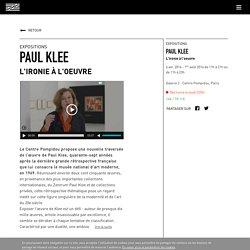 Paul Klee - L'ironie à l'oeuvre