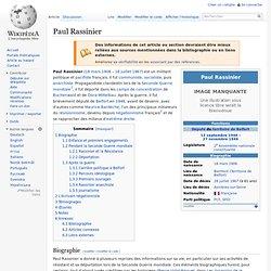 Paul Rassinier wikipedia