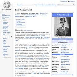 Paul Van Zeeland